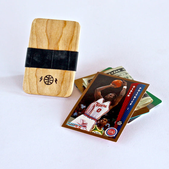 Basketball Court Wallet