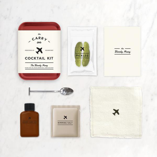 Bloody Mary Carry On Cocktail Kit - W & P Design