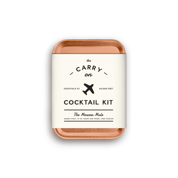 Moscow Mule Carry On Cocktail Kit - W & P Design