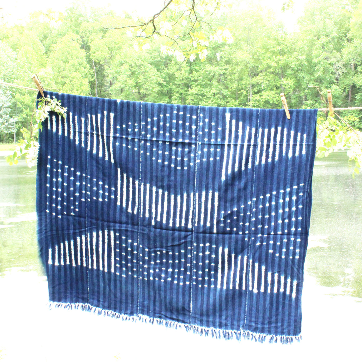 Mudcloth Throw - pattern 1