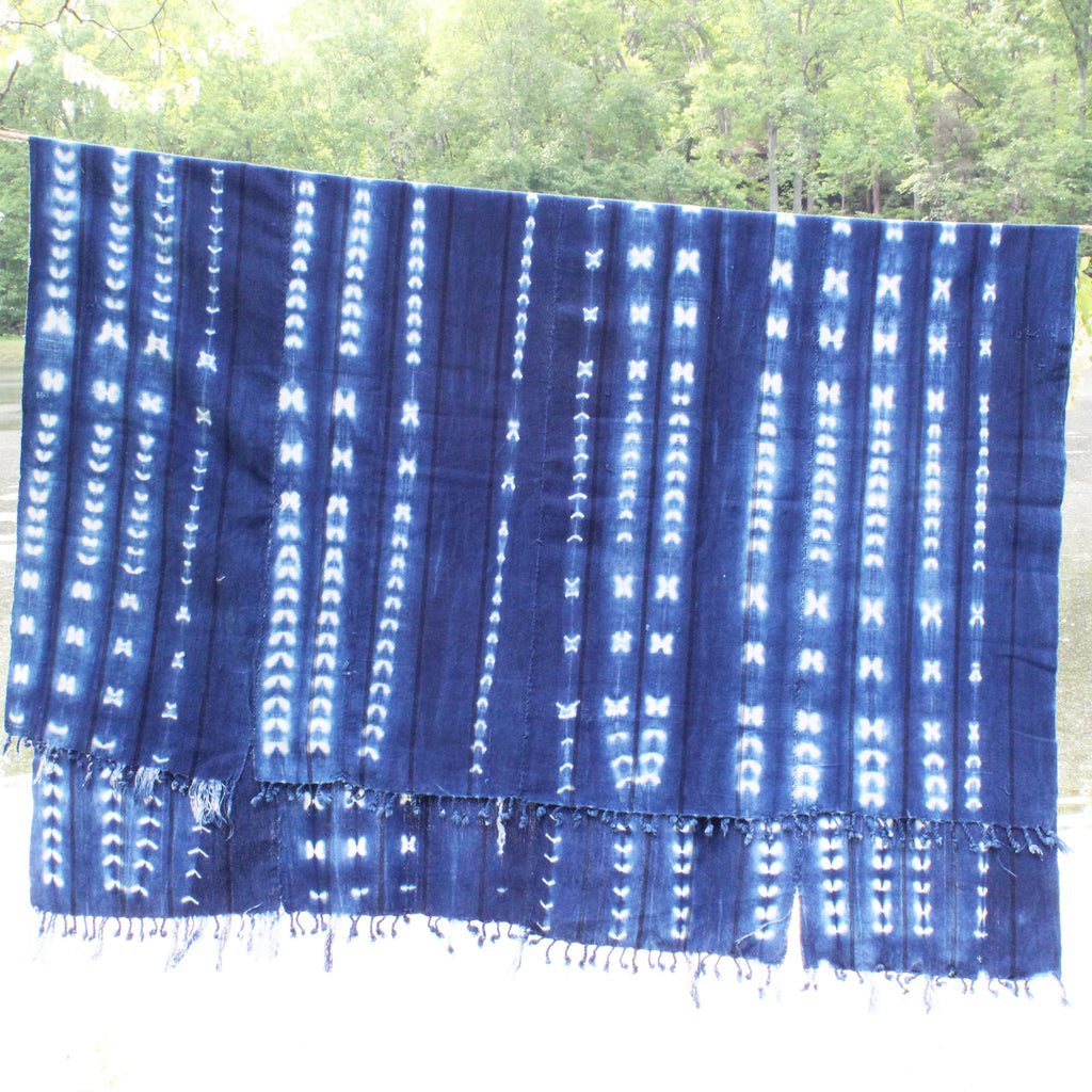 Mudcloth Throw - pattern 2