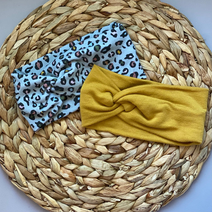 Lovely Leopard Mama Headwrap