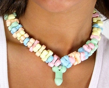 Super Fun Penis Candy Necklace