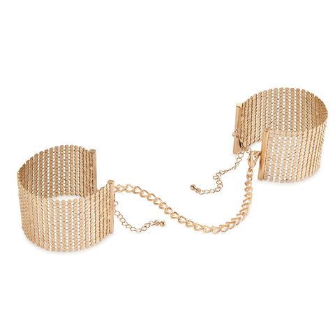 Bijoux Indescrits Desir Metallique Mesh Handcuffs