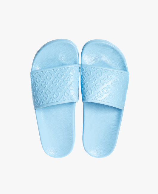 Slydes - Chance Pale Blue Women's Slider Sandals - The Worlds Best Sliders & Sandals