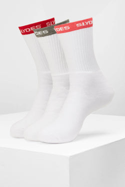 Slydes - Circuit Women's Socks - 3 pairs - The Worlds Best Sliders & Sandals