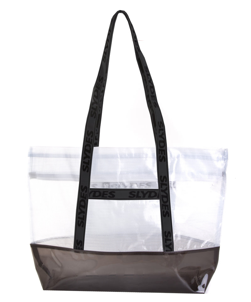 Slydes - Connect White Tote Bag - The Worlds Best Sliders & Sandals