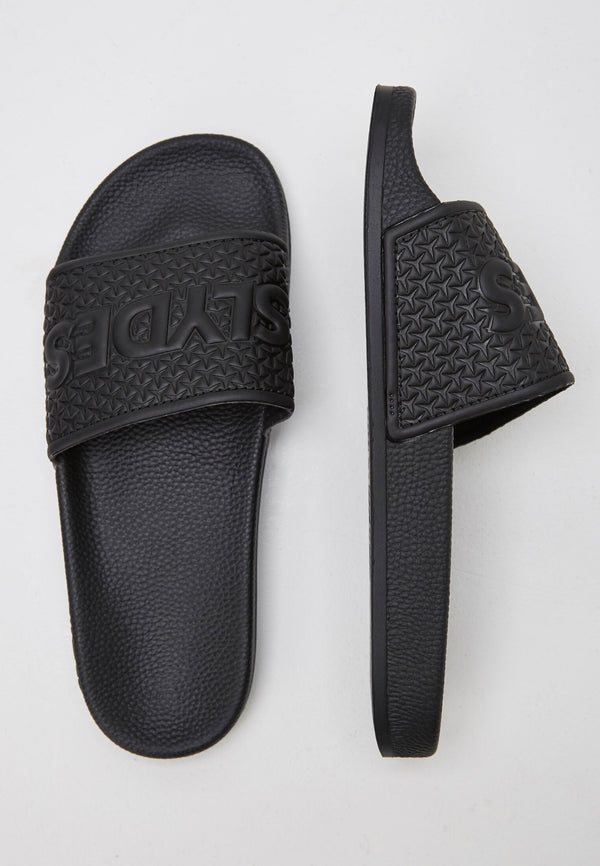 Slydes - Cali Men's Black Sliders - The Worlds Best Sliders & Sandals