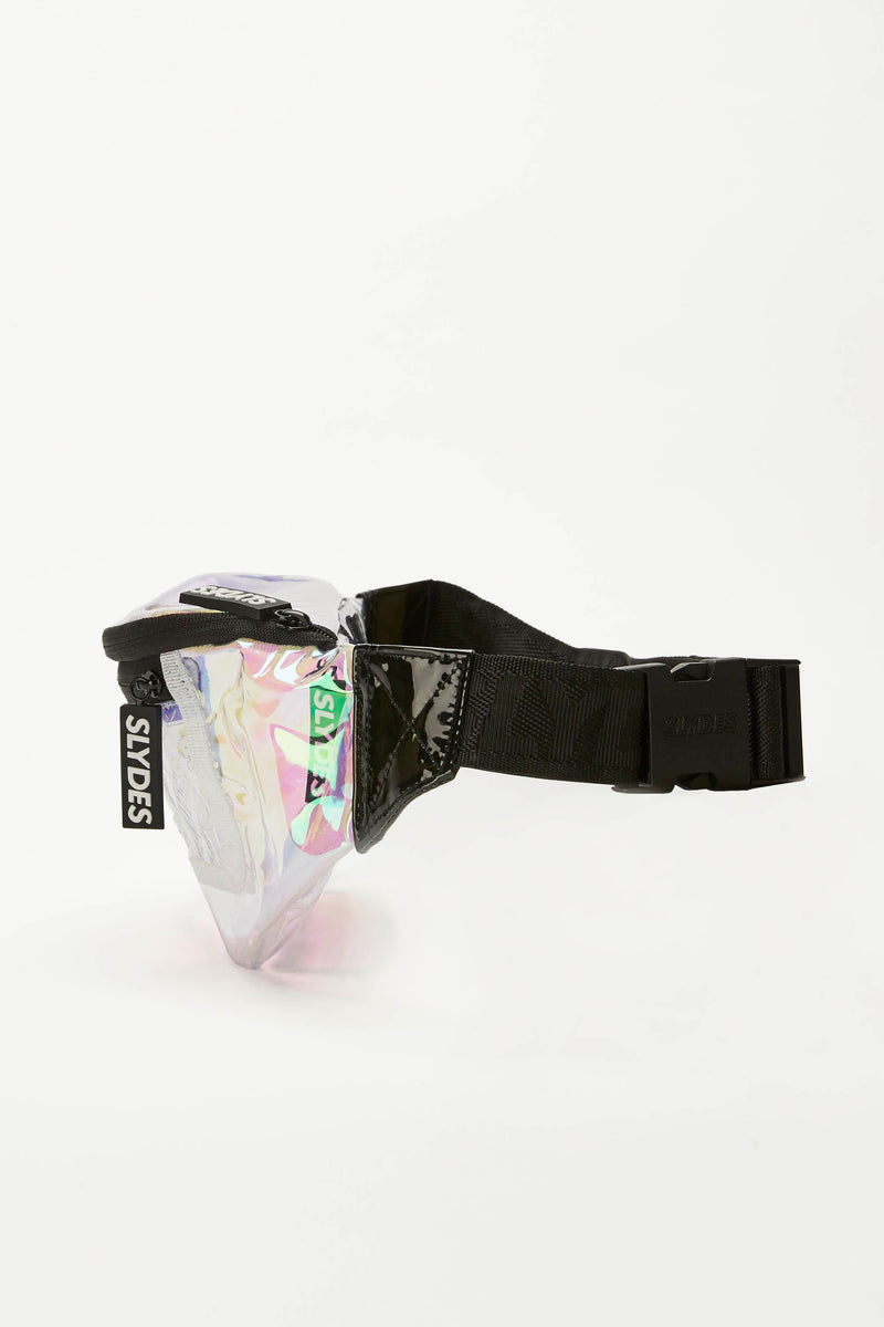 Slydes - Crystal Holographic Bum Bag - The Worlds Best Sliders & Sandals
