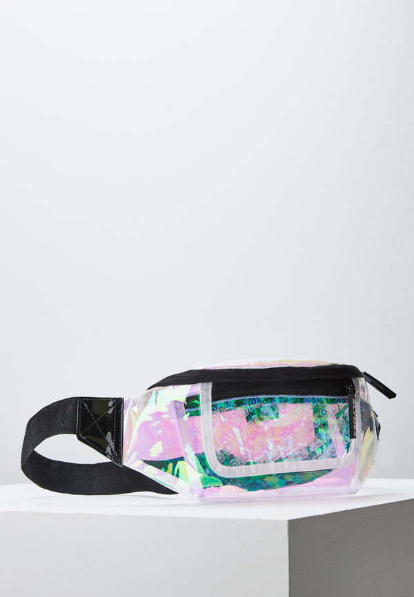 Crystal Holographic Bum Bag