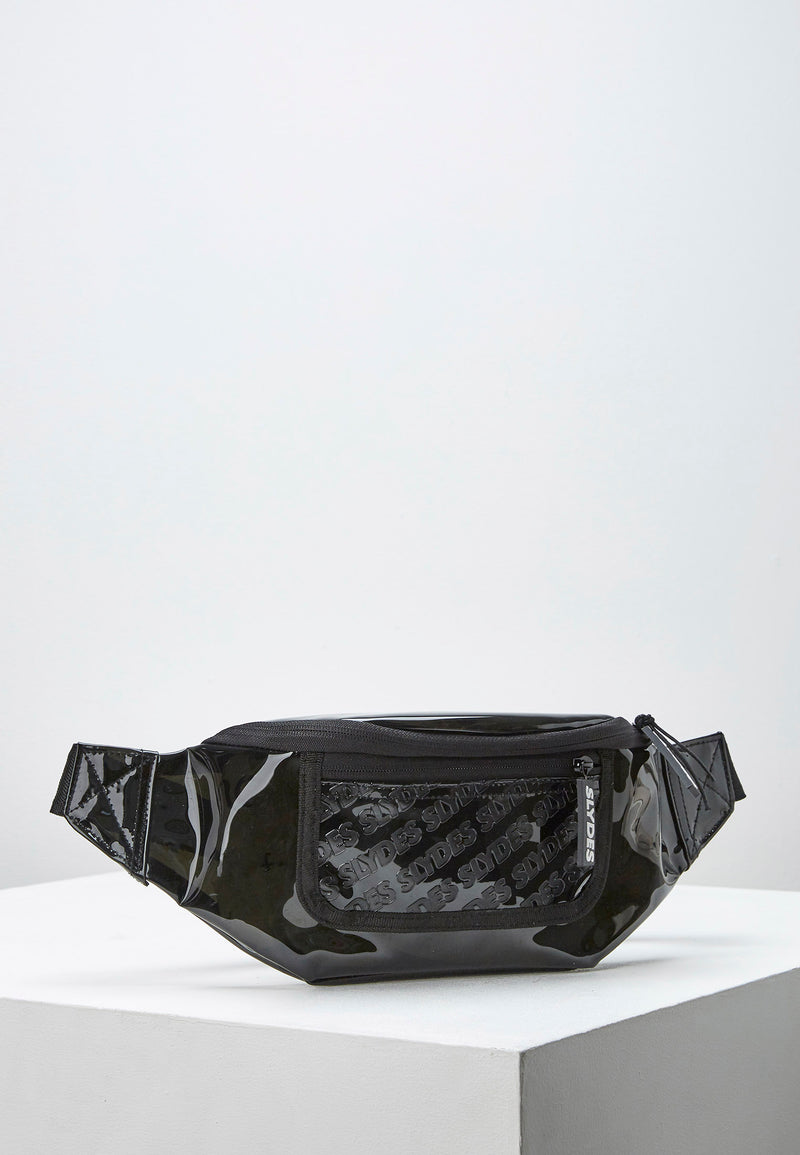 Slydes - Crystal Black Bum bag - The Worlds Best Sliders & Sandals