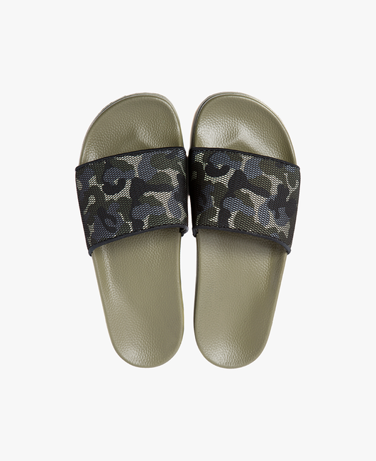 Slydes - Carter Khaki Men's Slider Sandals - The Worlds Best Sliders & Sandals