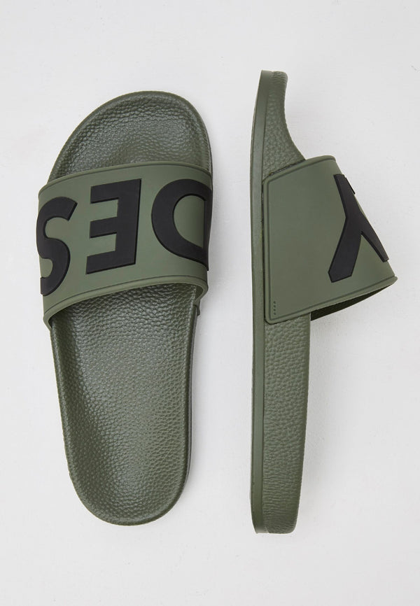 Slydes - Deflect Men's Khaki Sliders - The Worlds Best Sliders & Sandals