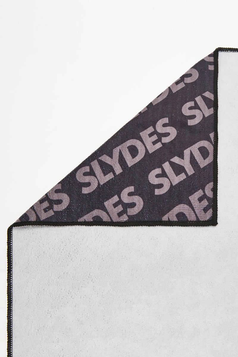 Slydes - Chance Black Convertible Beach Towel and Drawstring Bag - The Worlds Best Sliders & Sandals