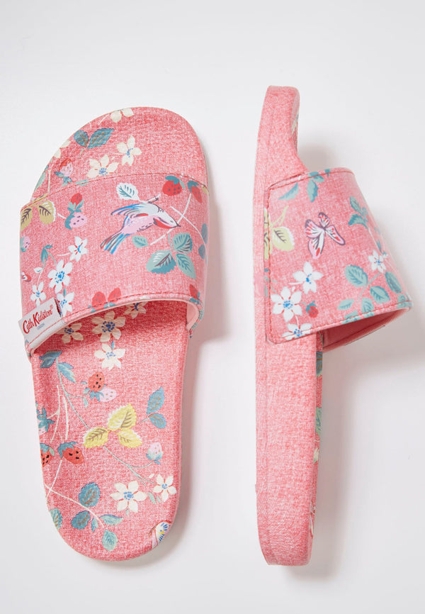 Slydes - Cath Kidston x Slydes Women's Berries & Birds Sliders - The Worlds Best Sliders & Sandals