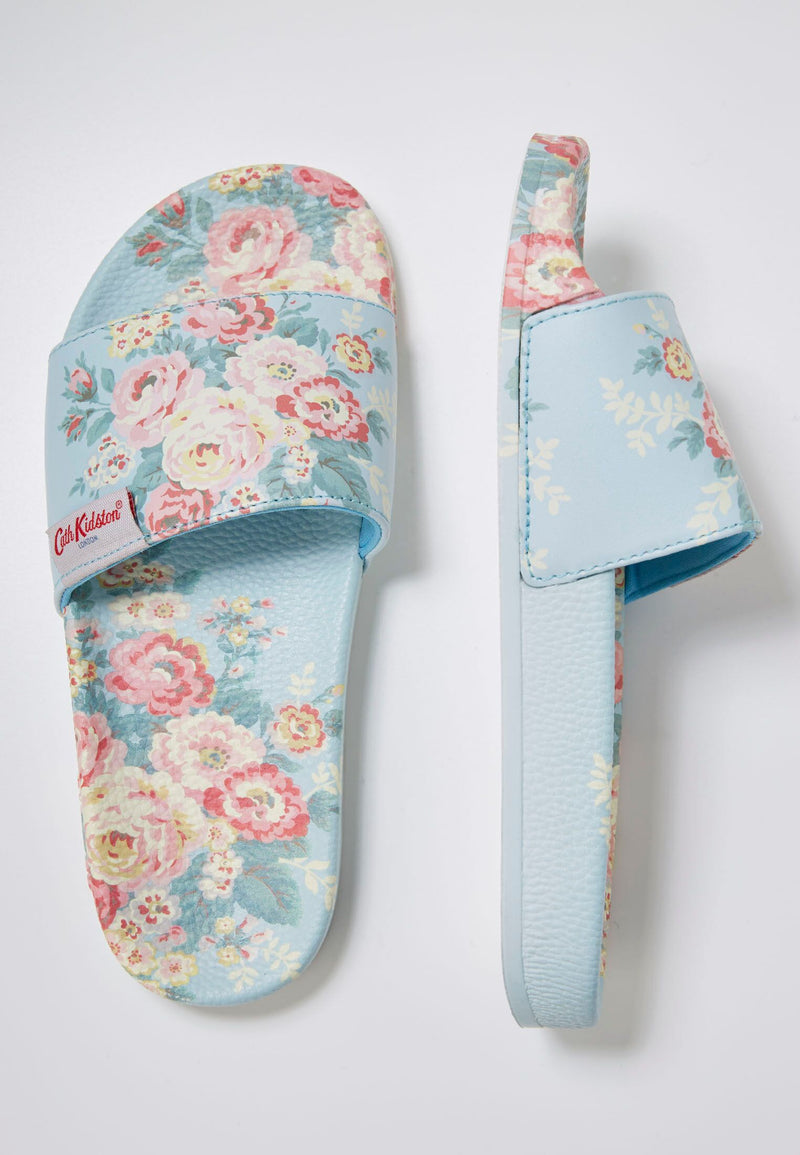 Slydes - Cath Kidston x Slydes Women's Candy Flowers Sliders - The Worlds Best Sliders & Sandals