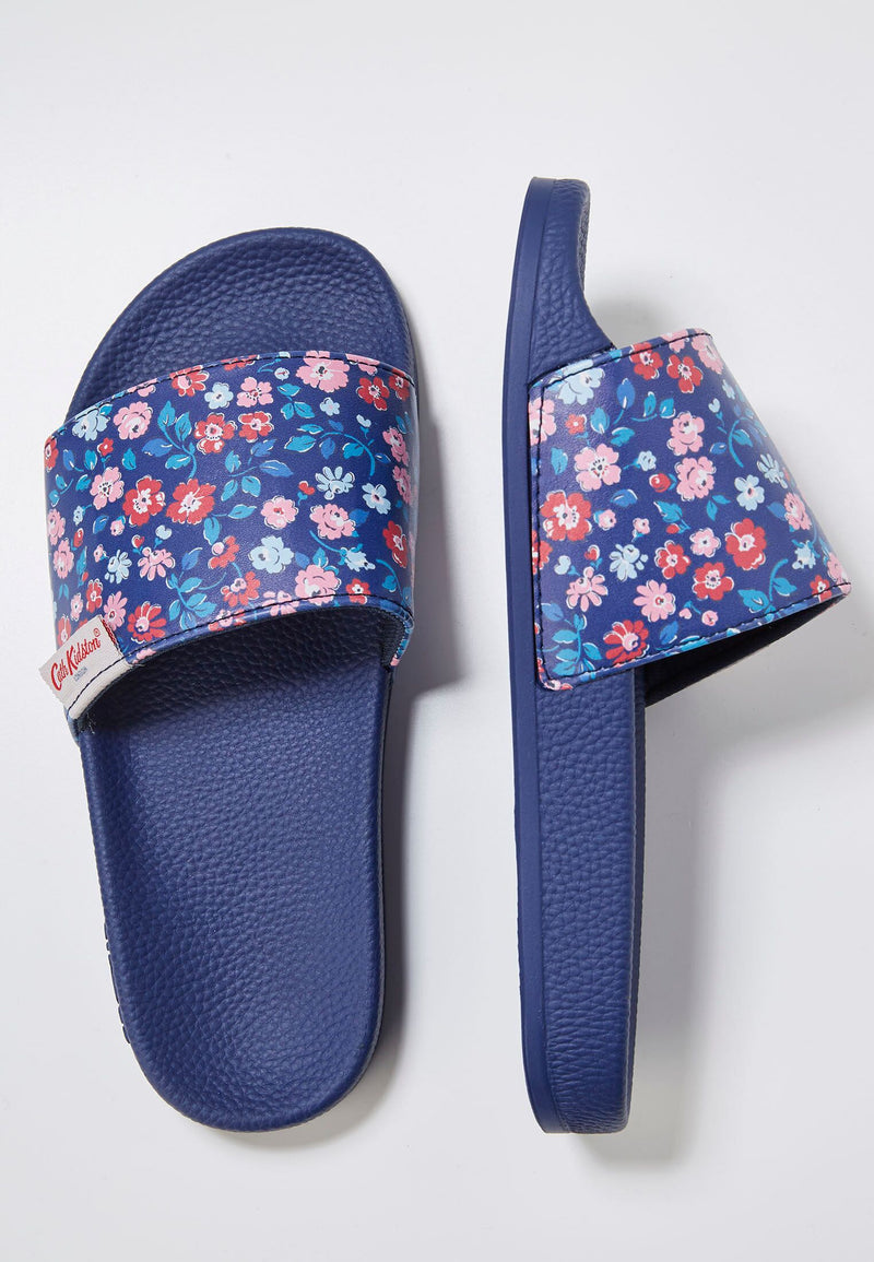 Slydes - Cath Kidston x Slydes Women's Dulwich Daisy Sliders - The Worlds Best Sliders & Sandals