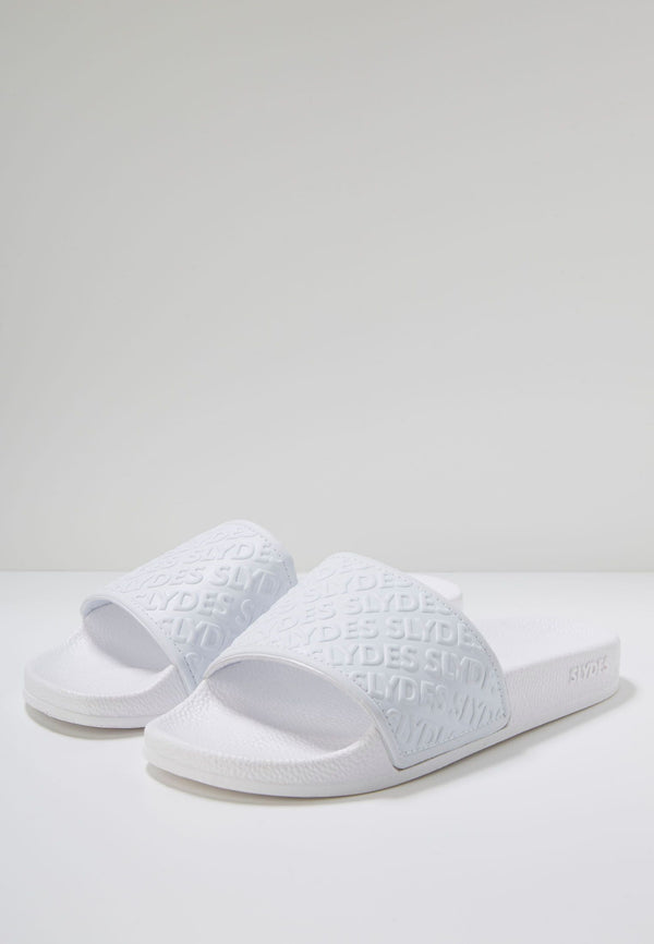 Slydes - Chance Women's White Sliders - The Worlds Best Sliders & Sandals