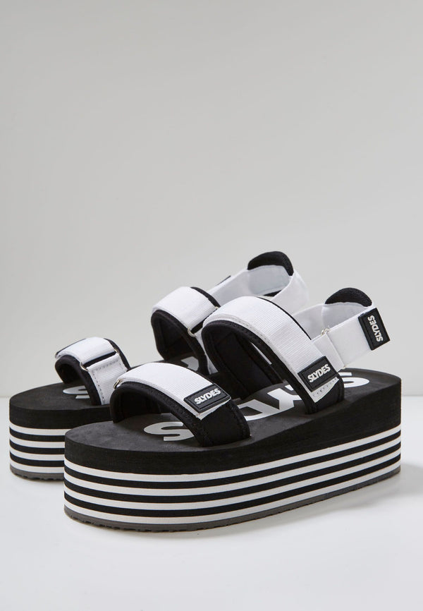 Summit Women's Black/White Sandals