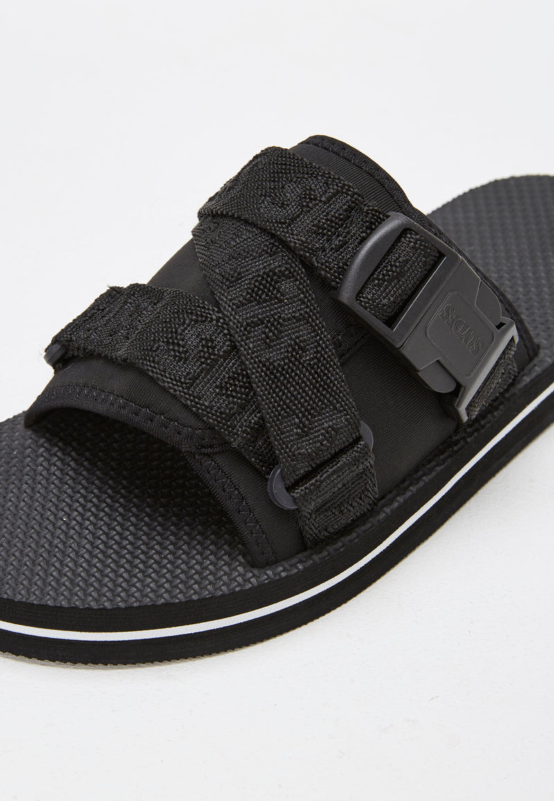Slydes - Flex Men's Black Sliders - The Worlds Best Sliders & Sandals