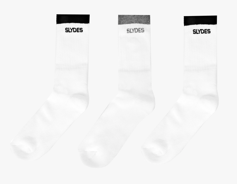 Slydes - Mask Men's Socks - 3 pairs - The Worlds Best Sliders & Sandals