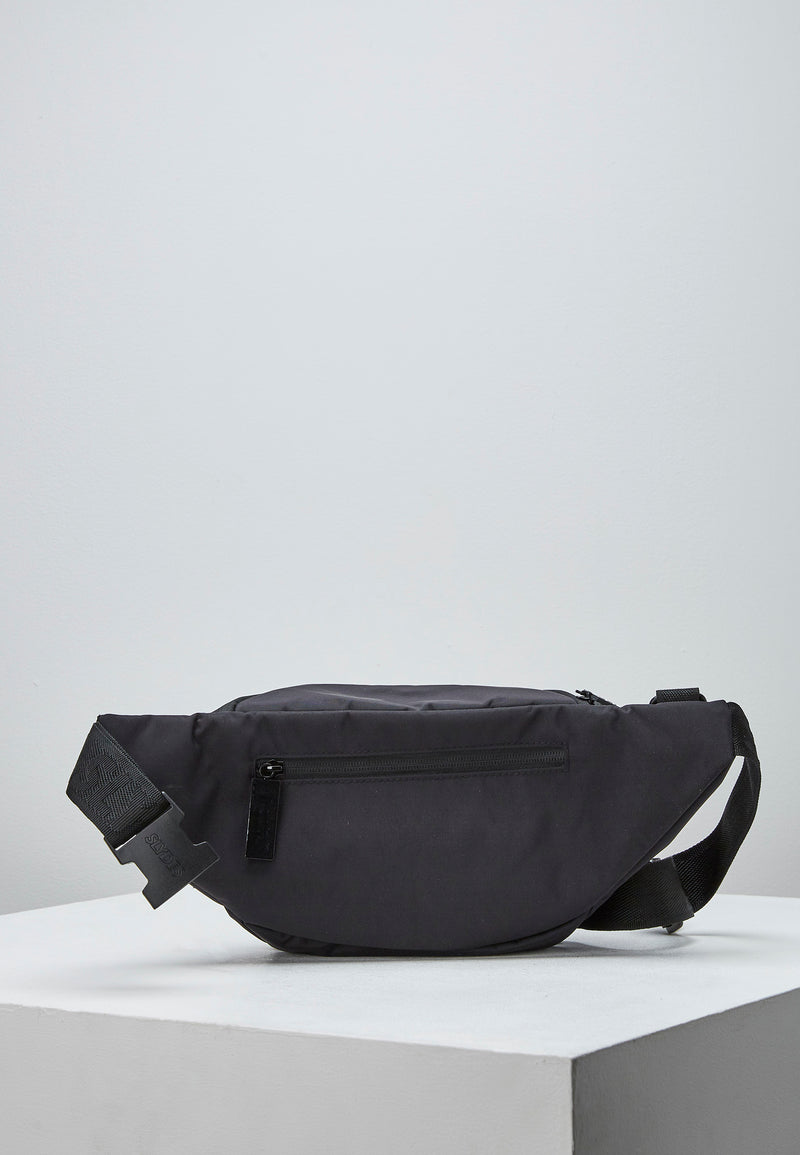 Slydes - Twine Black Bum Bag - The Worlds Best Sliders & Sandals