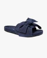 Monroe Navy Women's Slider Sandals - Slydes