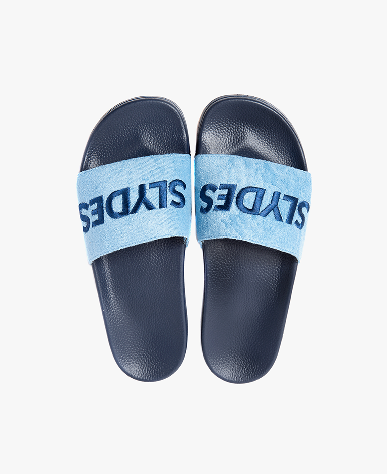 Slydes - Plya Navy Men's Slider Sandals - The Worlds Best Sliders & Sandals