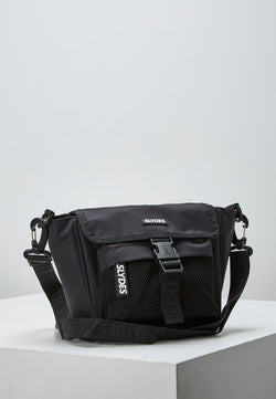 Slydes - Revive Black Side Bag - The Worlds Best Sliders & Sandals