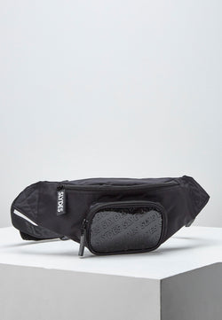 Slydes - Risen Black Bum Bag - The Worlds Best Sliders & Sandals