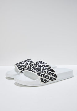 Lucid Women's White and Black Slider