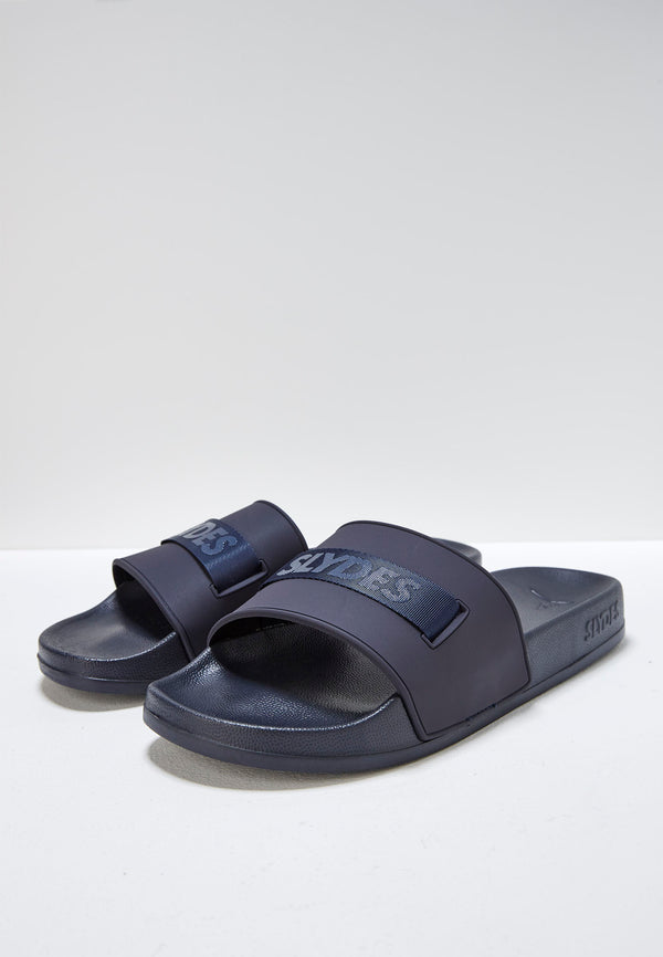 Vice Men's Navy Sliders