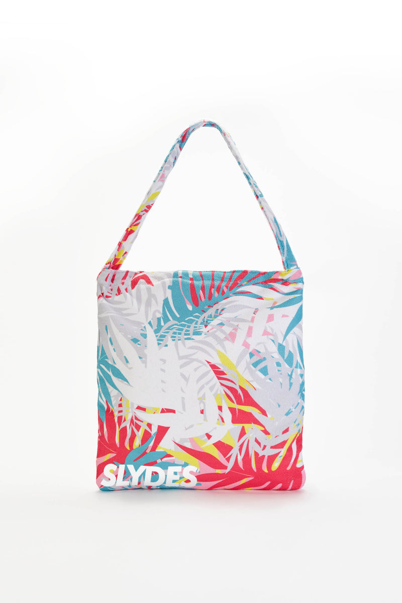 Slydes - Cyber Light Convertible Beach Towel and Tote Bag - The Worlds Best Sliders & Sandals