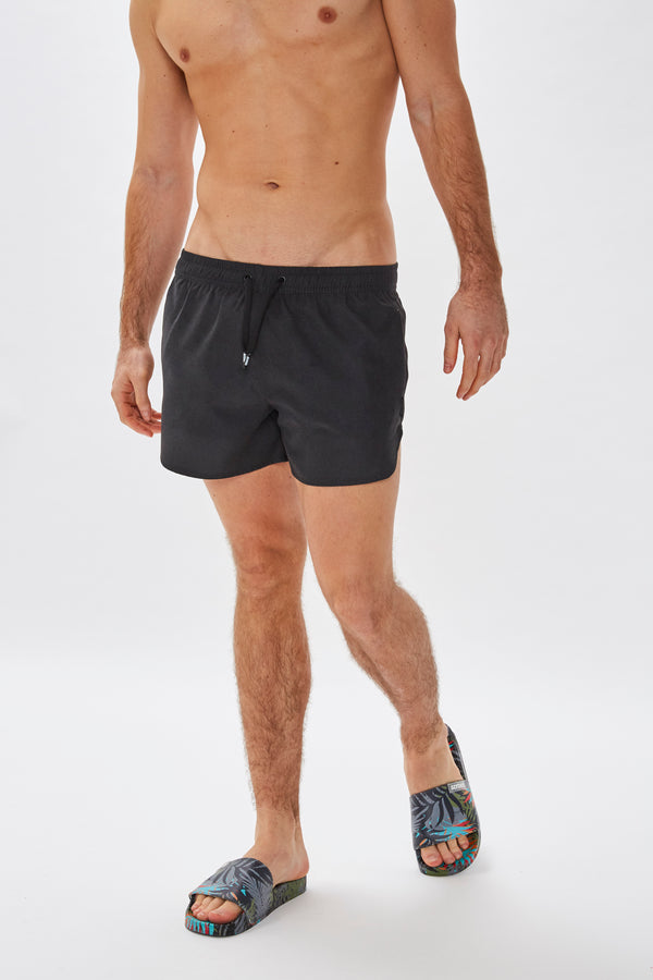 Slydes - Mandalay Mens Black Swim Shorts - The Worlds Best Sliders & Sandals