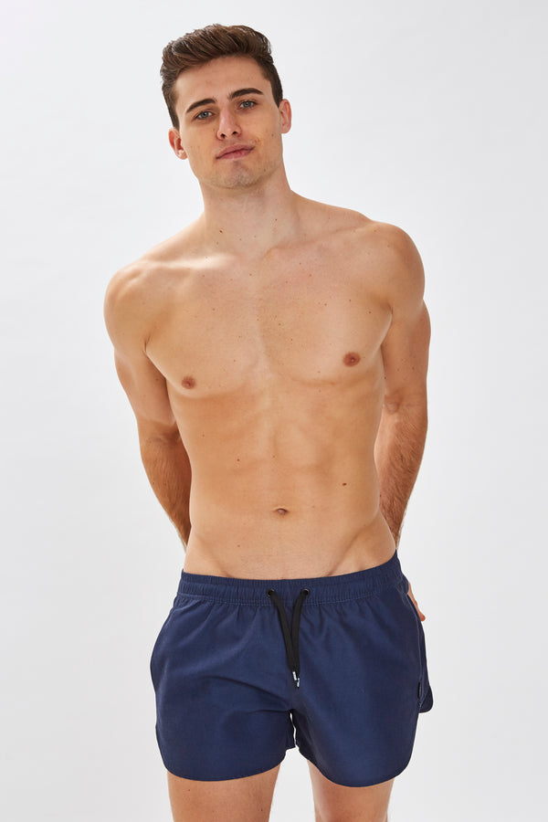Slydes - Mandalay Mens Navy Swim Shorts - The Worlds Best Sliders & Sandals