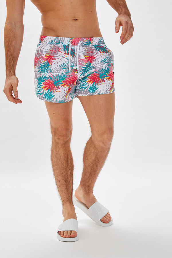 Slydes - Mandalay Mens Light Cyber Swim Shorts - The Worlds Best Sliders & Sandals