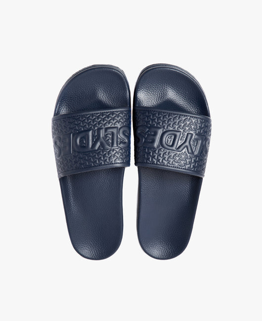 Slydes - Cali Navy Men's Slider Sandals - The Worlds Best Sliders & Sandals