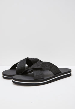 Slydes - Warp Women's Black Sliders - The Worlds Best Sliders & Sandals