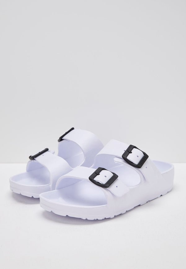 Slydes - Watson Men's White Sliders - The Worlds Best Sliders & Sandals