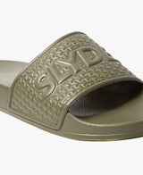 Slydes - Cali Khaki Men's Slider Sandals - The Worlds Best Sliders & Sandals