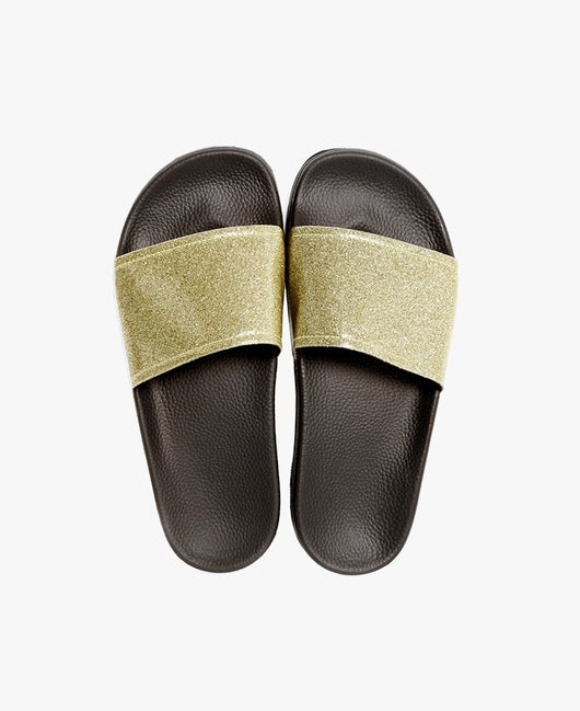 Slydes - Champagne Gold Sliders - The Worlds Best Sandals