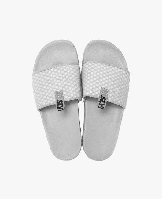 Cruz Grey Women's Slider Sandals - Slydes