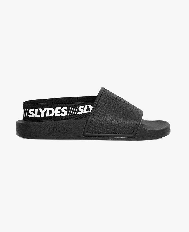 Slydes - Finn Black Women's Slider Sandals - The Worlds Best Sliders & Sandals