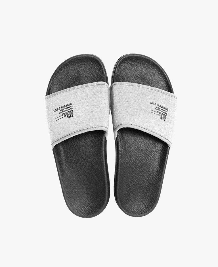 Slydes Bay Tech Fleece Black Slides The Worlds Best Sliders & Sandals