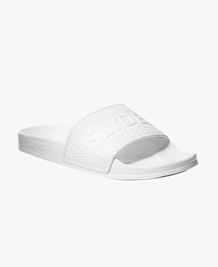 Slydes - Cali White Men's Slider Sandals - The Worlds Best Sliders & Sandals