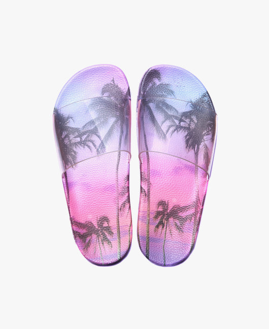 Slydes - Paradise Palm Women's Slider Sandals - The Worlds Best Sliders & Sandals