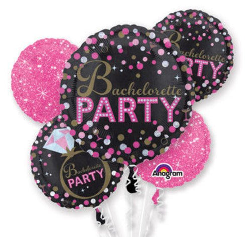 Bachelorette Party Foil balloon bouquet 2
