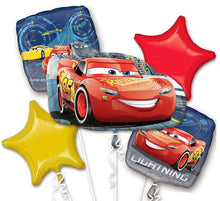 Foil balloon bouquet (Cars)