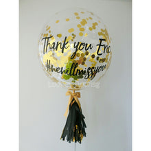 "24"" Customise Balloon with Confettis"