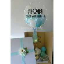 "Surprise Box with 24"" Customised balloon"